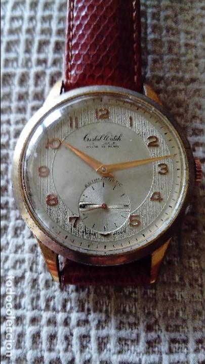 GRAN RELOJ CRISTAL WATCH DE 39 MM (Relojes - Pulsera Carga Manual)