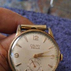 Relojes de pulsera: RELOJ DE PULSERA CABALLERO CAUNY PRIMA LA CHAUX - DE- FONDS ANCRE 15 RUBIS ANTIMAGNITIC. VER FOTOS . Lote 96770883