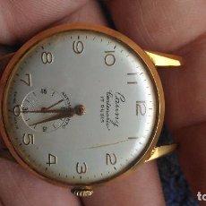 Relojes de pulsera: RELOJ DE PULSERA CABALLERO CARGA MANUAL, CAUNY CENTENARIO . VER FOTOS .. Lote 97086279