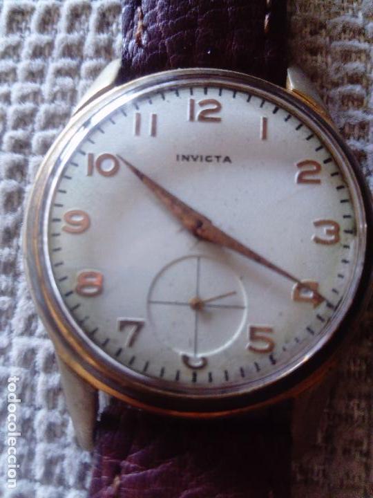Relojes de pulsera: Antiguo reloj Invicta - Foto 4 - 57089149