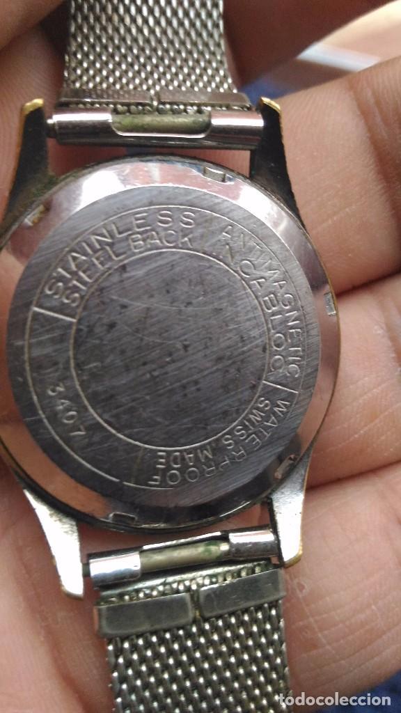 Relojes de pulsera: reloj de pulsera carga manual, radiant 17 rubis incabloc, movt swiss - Foto 3 - 97243983