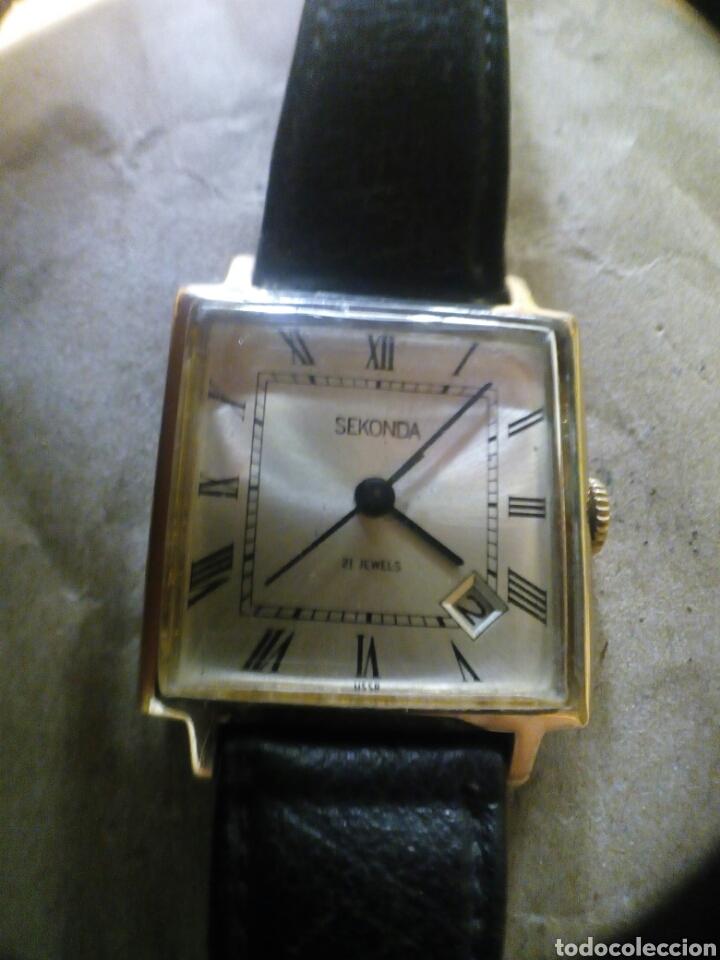 Relojes de pulsera: Reloj Sekonda dama de cuerda 21 jewels reloj hecho en URSS - Foto 5 - 97339278