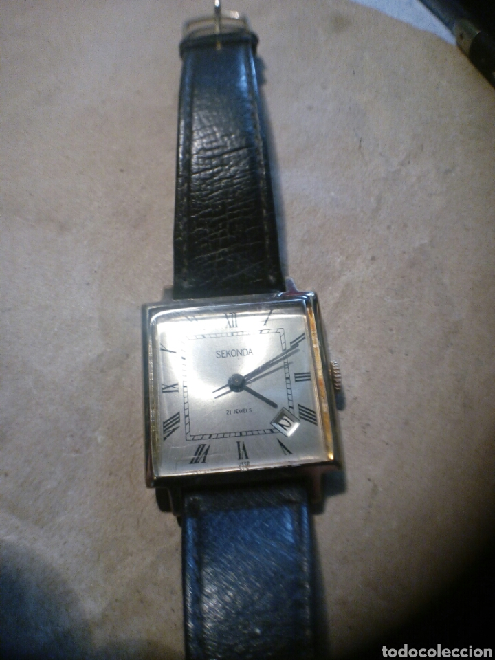 Relojes de pulsera: Reloj Sekonda dama de cuerda 21 jewels reloj hecho en URSS - Foto 10 - 97339278
