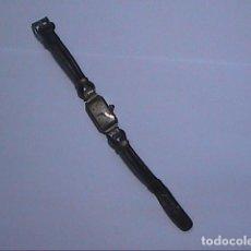 Relojes de pulsera: RELOJ PULSERA DE DAMA.ESFERA RECTANGULAR.AÑOS 30. DENIS. FRANCE.. Lote 97487455