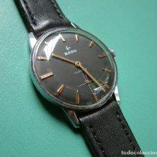 Relojes de pulsera: VINTAGE RELOJ PULSERA RADO CARGA MANUAL. 17J 35MM. FUNCIONANDO CORRECTAMENTE. Lote 97509575