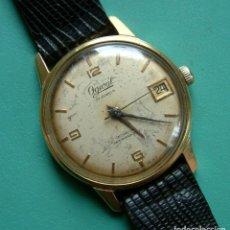 Relojes de pulsera: VINTAGE RELOJ PULSERA OGIVAL FISK CARGA MANUAL CON CALENDARIO / FUNCIONANDO. Lote 97512195