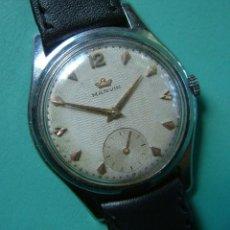 Relojes de pulsera: VINTAGE RELOJ PULSERA MARCA MARVIN CARGA MANUAL FUNCIONANDO. Lote 97528411