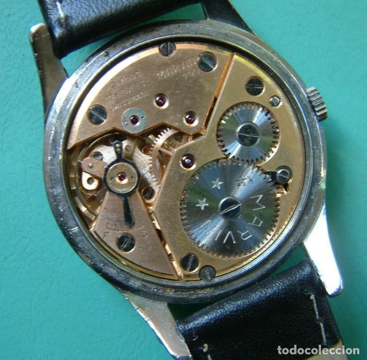 Relojes de pulsera: VINTAGE RELOJ PULSERA MARCA MARVIN CARGA MANUAL FUNCIONANDO - Foto 6 - 97528411