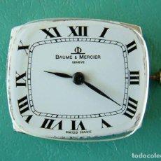Relojes de pulsera: MOVIMIENTO COMPLETO PARA RELOJ PULSERA BAUME & MERCIER / FUNCIONANDO . Lote 97535827