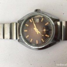 Relojes de pulsera: RELOJ TORMAS CARGA MANUAL EN ACERO COMPLETO VINTAGE. Lote 97777615