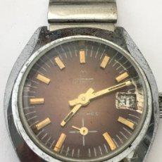 Relojes de pulsera: RELOJ TORMAS CARGA MANUAL EN ACERO COMPLETO VINTAGE. Lote 188533085