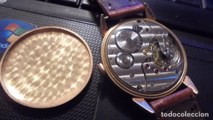 Relojes de pulsera: ANTIGUO RELOJ - CYMA - DE ORO 18 KL. SWISS MADE FUNCIONANDO PERFECTAMENTE SISTEMA DE CUERDA . - Foto 4 - 128856099