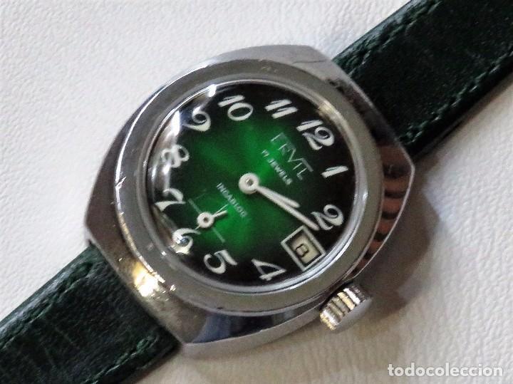 ERVIL SUIZO DE CUERDA MANUAL AÑOS 70 (Relojes - Pulsera Carga Manual)