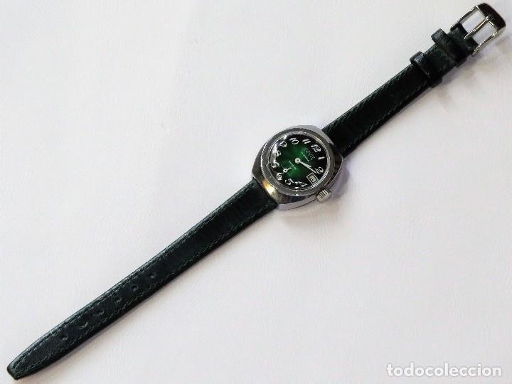 Relojes de pulsera: ERVIL SUIZO DE CUERDA MANUAL AÑOS 70 - Foto 3 - 98170855