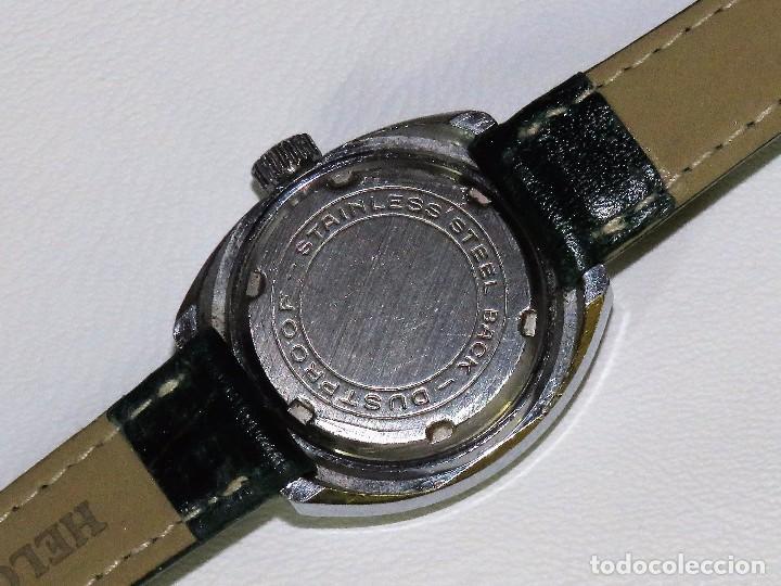 Relojes de pulsera: ERVIL SUIZO DE CUERDA MANUAL AÑOS 70 - Foto 4 - 98170855