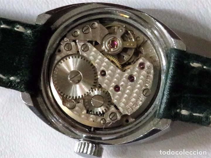 Relojes de pulsera: ERVIL SUIZO DE CUERDA MANUAL AÑOS 70 - Foto 10 - 98170855