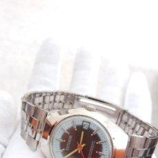 Relojes de pulsera: RELOJ CABALLERO CUERDA AÑOS 70 SIN ESTRENAR FUNCIONANDO. Lote 98242591