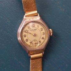 Relojes de pulsera: RELOJ ANCRE PRIMA PARA MUJER, 17 RUBÍS, PLACADO ORO – 20 MICRONS. Lote 98841359