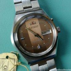 Relojes de pulsera: VINTAGE RELOJ PULSERA ORIENT CARGA MANUAL AÑO 1970 NUEVO. Lote 98854327