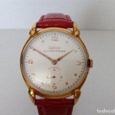 Relojes de pulsera: RELOJ DE CUERDA EXACTUS 15 RUBIS AS 1130 EN MUY BUEN ESTADO Y TAMAÑO GRANDE AÑO 1950. Lote 99280143