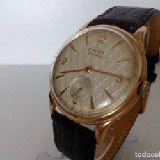 Relojes de pulsera: RELOJ CAUNY PRIMA 15 RUBIS LA CHAUX DE FONDS DE LUXE TAMAÑO GANDE ETA 176. Lote 99295867