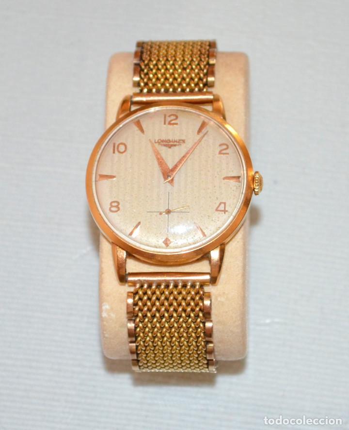 acf41651e3a1 Reloj pulsera oro longines, años 50. -- descuen - Vendido en Venta ...