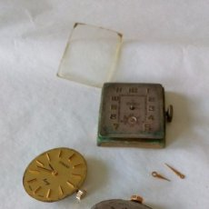 Relojes de pulsera: TRES MAQUINARIAS DE RELOJES ANTIGUOS. Lote 99403703