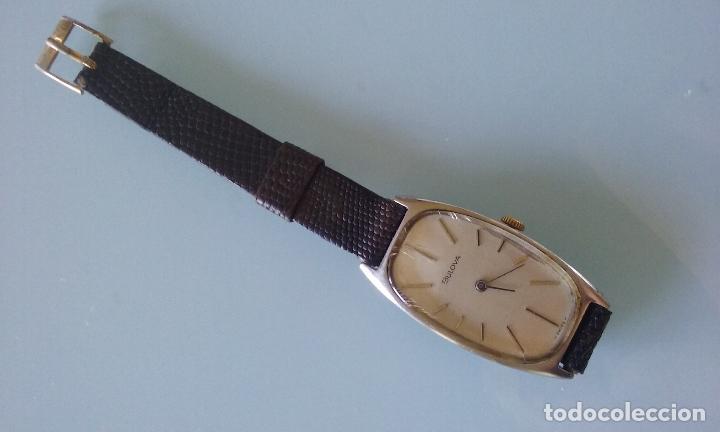 Relojes de pulsera: RELOJ VINTAGE MUJER BULOVA CARGA MANUAL CAJA ACERO AÑOS 70 - Foto 2 - 99809679