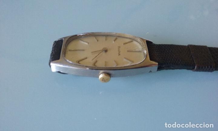 Relojes de pulsera: RELOJ VINTAGE MUJER BULOVA CARGA MANUAL CAJA ACERO AÑOS 70 - Foto 3 - 99809679