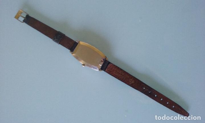 Relojes de pulsera: RELOJ VINTAGE MUJER BULOVA CARGA MANUAL CAJA ACERO AÑOS 70 - Foto 7 - 99809679