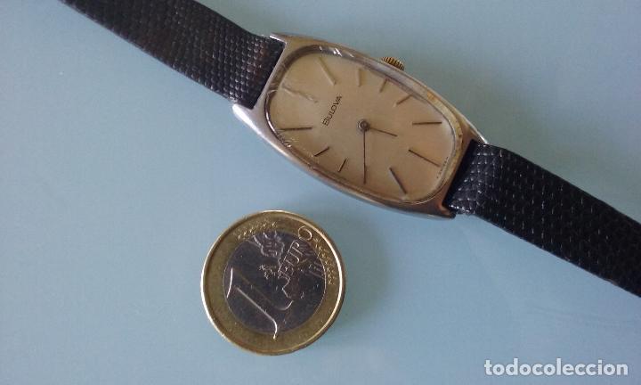 Relojes de pulsera: RELOJ VINTAGE MUJER BULOVA CARGA MANUAL CAJA ACERO AÑOS 70 - Foto 8 - 99809679
