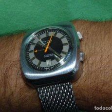 Relojes de pulsera: IMPRESIONANTE RELOJ TEMIS ALARM ALARMA CARGA MANUAL DOBLE CORONA CARGA MANUAL 17 RUBIS SWISS MADE. Lote 99897179
