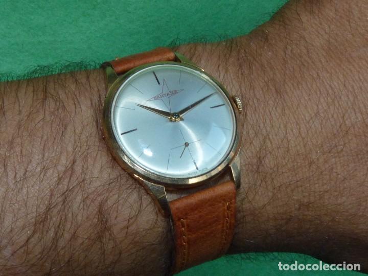 PRECIOSO RELOJ SANTANA CALIBRE LANDERON 502 RARO REGALO LAND ROVER ASTURIAS OVIEDO ASTURDIESEL (Relojes - Pulsera Carga Manual)