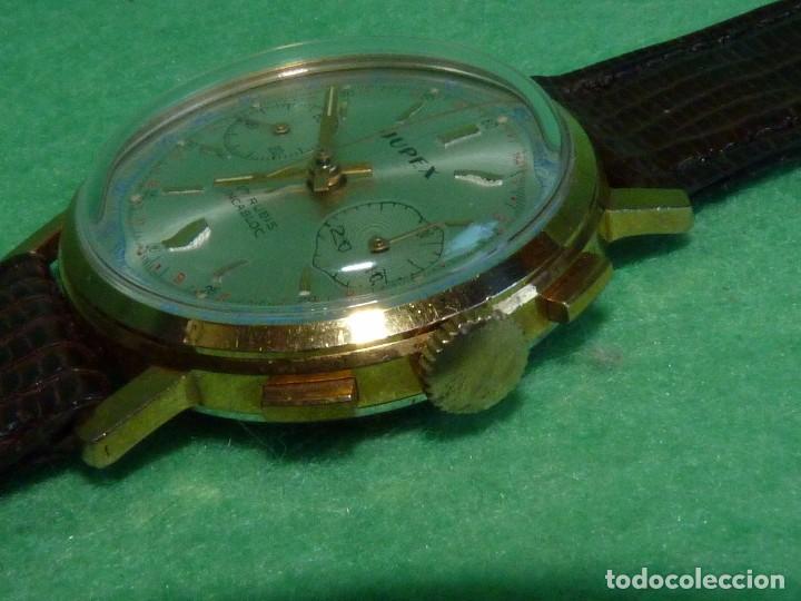 Relojes de pulsera: ELEGANTE RELOJ CRONOMETRO JUPEX CALIBRE LANDERON 247 SWISS MADE 17 RUBIS AÑOS 60 - Foto 3 - 99902643