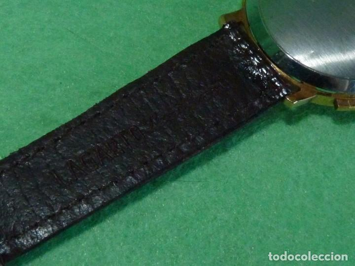 Relojes de pulsera: ELEGANTE RELOJ CRONOMETRO JUPEX CALIBRE LANDERON 247 SWISS MADE 17 RUBIS AÑOS 60 - Foto 4 - 99902643