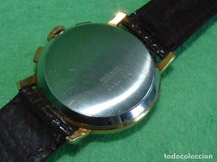 Relojes de pulsera: ELEGANTE RELOJ CRONOMETRO JUPEX CALIBRE LANDERON 247 SWISS MADE 17 RUBIS AÑOS 60 - Foto 5 - 99902643