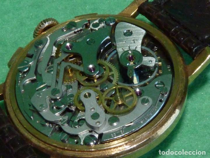Relojes de pulsera: ELEGANTE RELOJ CRONOMETRO JUPEX CALIBRE LANDERON 247 SWISS MADE 17 RUBIS AÑOS 60 - Foto 7 - 99902643