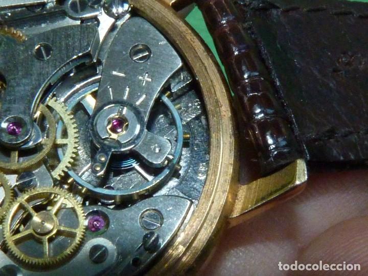Relojes de pulsera: ELEGANTE RELOJ CRONOMETRO JUPEX CALIBRE LANDERON 247 SWISS MADE 17 RUBIS AÑOS 60 - Foto 8 - 99902643