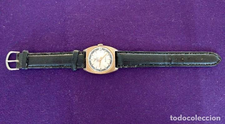 Relojes de pulsera: ANTIGUO RELOJ DE PULSERA CAMY GENEVA DE LUXE. CARGA MANUAL-CUERDA. EN FUNCIONAMIENTO. SWISS. AÑOS 50 - Foto 3 - 220872645