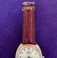 Relojes de pulsera: ANTIGUO RELOJ DE PULSERA CHATEL. CARGA MANUAL-CUERDA. EN FUNCIONAMIENTO. SWISS. AÑOS 50. Lote 100387611