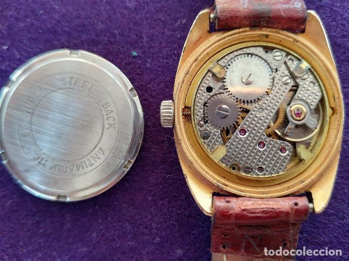 Relojes de pulsera: ANTIGUO RELOJ DE PULSERA CHATEL. CARGA MANUAL-CUERDA. EN FUNCIONAMIENTO. SWISS. AÑOS 50 - Foto 3 - 100387611