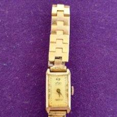 Relojes de pulsera: ANTIGUO RELOJ DE PULSERA URBAN SPIRIT KJ. CARGA MANUAL-CUERDA. EN FUNCIONAMIENTO. AÑOS 30. SWISS. . Lote 100391863