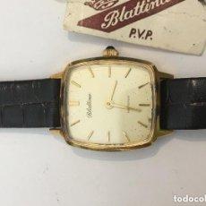 Relojes de pulsera: RELOJ MANUAL BLETINA ,CON ZAFIRO CORONA , NUEVO STOCK JOYERIA CERRADA. Lote 100487699
