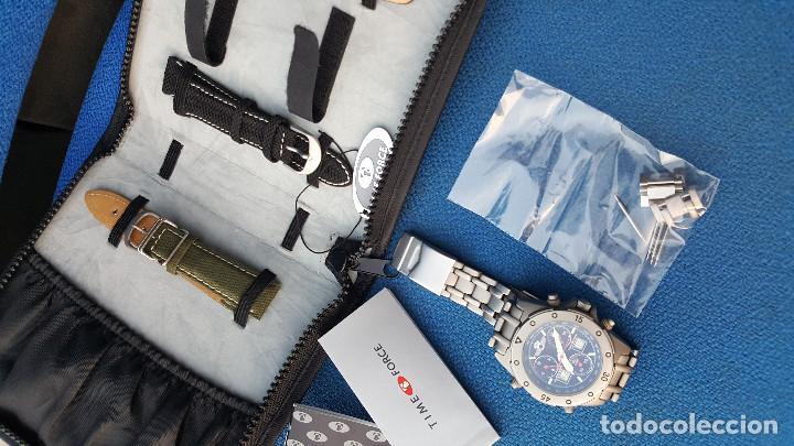 Relojes de pulsera: reloj piloto ejercito del aire time force - Foto 2 - 116907727