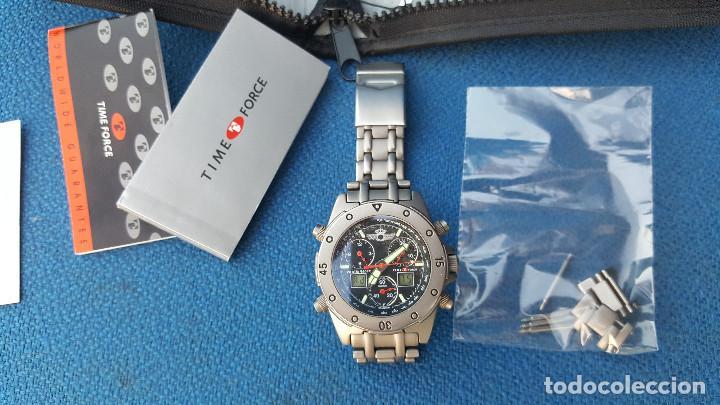 Relojes de pulsera: reloj piloto ejercito del aire time force - Foto 5 - 116907727