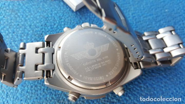 Relojes de pulsera: reloj piloto ejercito del aire time force - Foto 7 - 116907727