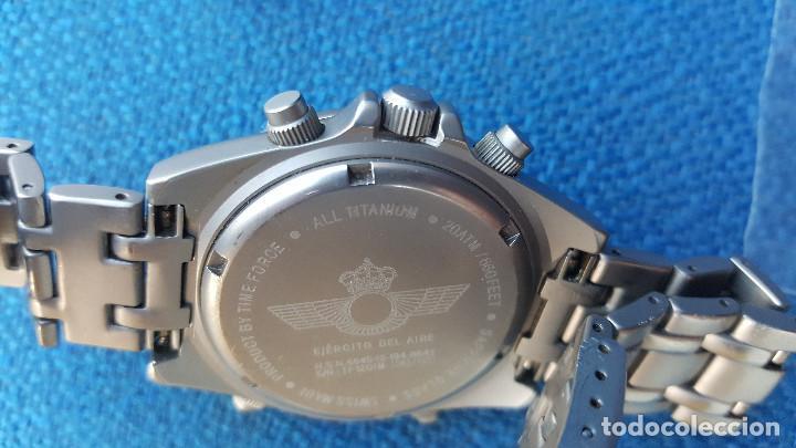 Relojes de pulsera: reloj piloto ejercito del aire time force - Foto 8 - 116907727