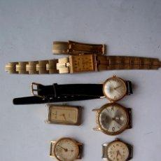 Relojes de pulsera: LOTE DE 8 RELOJES DE DAMA MECANICOS M10. Lote 101282983