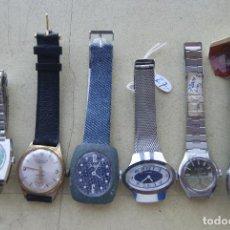 Relojes de pulsera: LOTE DE 6 RELOJES DE DAMA MECANICOS FUNCIONANDO C17. Lote 101283519