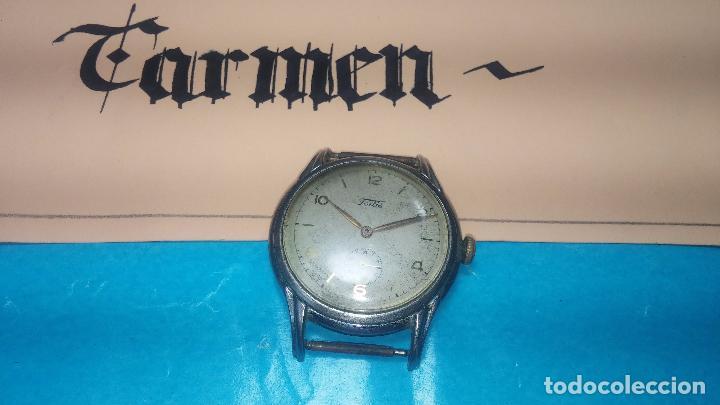 BOTITO Y MUY ANTIGUISIMO RELOJ DE CUERDA DE CABALLERO FORTIS (Relojes - Pulsera Carga Manual)